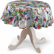 Runde Tischdecke, bunt, Ø 135 cm, New Art