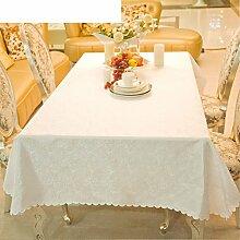 Runde tischdecke für hotels,hotel tisch tuch,längliche tischdecke-B 140x180cm(55x71inch)