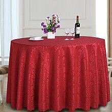 Runde Tischdecke Für Hotels,Restaurant Tischdecke,Tee Tischdecke-C 130*180cm(51x71inch)