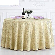 Runde tischdecke für hotels,stoff tischdecke tee tuch,wohnzimmer restaurant round meeting europäische tischtuch-D Durchmesser320cm(126inch)