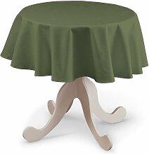 Runde Tischdecke, grün, Ø 135 cm, Jupiter