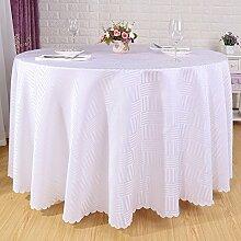 Runde Tischdecke/ Hotel weiße Tischdecke/Wie auch immer/Europäische Quadrat Tischdecke/Tischdecke decke/Tischdecken/ Table Rock-D 160x160cm(63x63inch)