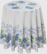 Runde Tischdecke, Lavande, Natur mit Lavendel, ca.