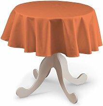 Runde Tischdecke, orange, Ø 135 cm, Jupiter