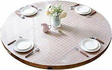 Runde Tischdecke, PVC Wasserdicht Und Öldicht