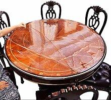 Runde Tischdecke Pvc Weiche Glas Kunststoff