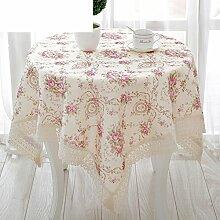Runde Tischdecke/Tischdecke decke/Tischsets/Matte/ Stoff-Tischdecke-C 150*200cm(59x79inch)