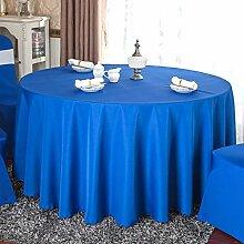 Runde Tischdecke Tischdecke Farbe abwaschbare