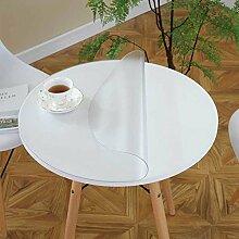 Runde Tischsets/PVC Tischdecke/Wasserdicht,Öl-beweis,Einweg-plastik Tischdecke/Tischtuch-J Durchmesser90cm(35inch)