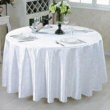 Runde Tischtücher, Tuch Tischdecke aus Holz, Konferenztischdecken, Couchtisch Tuch, Mode Tischtücher , #3 , diameter 200cm