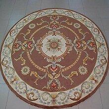 runden Teppich/Wohnzimmer Couchtisch Sofa Schlafzimmer Teppich/High Fashion Bereich abstrakte-A Durchmesser160cm(63inch)