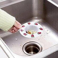 Runder Boden Rostfreier Stahl Sinkfilter