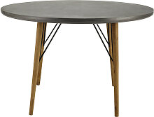 Runder Esstisch für 4 Personen aus Holz, D120