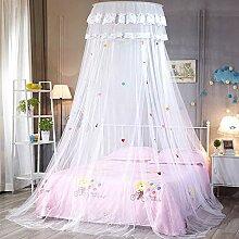 Runder Himmelbett Vorhang Princess Style