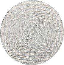 Runder In- und Outdoor Teppich Kathi, grau (Ø 100 cm)