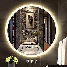 Runder LED Badezimmerspiegel Wandmontage Dicke 5mm
