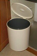 Runder Mülleimer, -13l, ausziehbar für