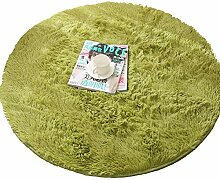 Runder Teppich Bettdecke Bodenmatte Aus Seide