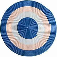 Runder Teppich, Farbe Chenille Weberei runden