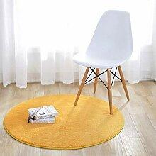 Runder Teppich fester weicher rutschfester Teppich