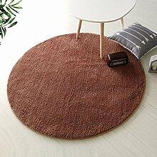 Runder Teppich für Wohnzimmer,