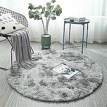 Runder Teppich für Wohnzimmer, extra groß,