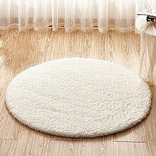 Runder Teppich Kinderbett am Bett rutschfeste Matten ( größe : 100cm )