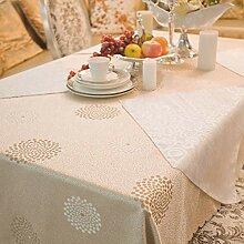 Runder Tischtuch Stoff Pastoral Western Tischdecke