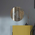 Runder Wandspiegel  Rahmenlos modern