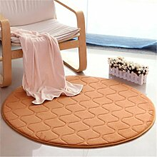 Runder Wohnzimmer Teppich, Schlafzimmer Nachttischdecke, Computer Stuhl Matten, Hause Teppich , 8 , diameter 60cm