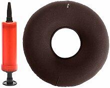 Rundes Donut-Sitzkissen aus Vinyl, 33 x 12,7 cm,