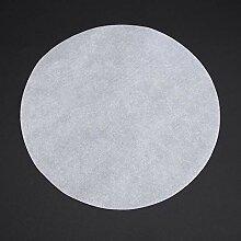 Rundes Grillpapier 100 Stück Antihaft-Backpapier