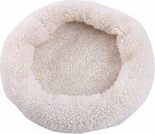 Rundes Kissen, Nest für Tiere oder Haustiere, aus Baumwolle, für Hamster, Igel, Eichhörnchen, Chinchilla und andere kleine Tiere
