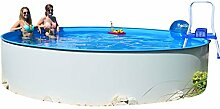Rundpool Fun-Zon 3,20 x 1,20m Stahlwandpool, Schwimmbecken