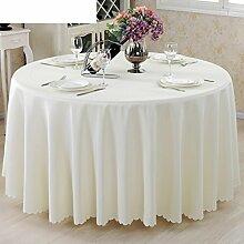 Rundtischdecken/West im europäischen Stil Garten Tapeten/ Hotel Tischdecke/Tischdecke decke/Tischdecken-E Durchmesser320cm(126inch)