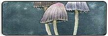 Runner Rug Handgemalte Aquarell Illustration