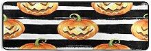 Runner Teppich Halloween Aquarell Nahtloses Muster