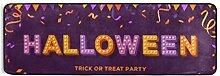 Runner Teppich Happy Halloween Card Banner