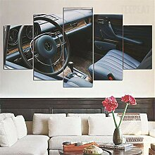runtooer Bild auf Leinwand - Mercedes 250Ce Vilner