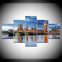 runtooer Bild auf Leinwand - Modern London