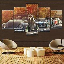 runtooer Bild auf Leinwand - Volkswagen Käfer