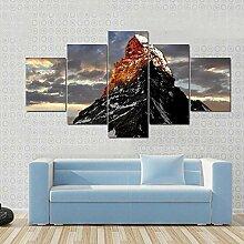 runtooer Bilder Modern Sonnenaufgang Matterhorn 5