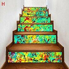 RUOXI Treppenaufkleber Möbeldekoration