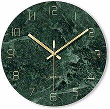 RUOXI Uhr Glas Kunst Uhr Wand Home Decor Große