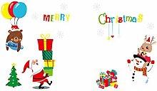 RUOXI Weihnachten DIY Dekoration Weihnachten