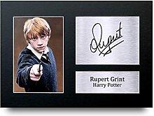 Rupert Grint unterzeichnet A4Gedruckt Autogramm,