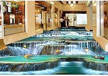 Rureng 3D-Bodenbelag Wasserfall 3D Stereoskopische