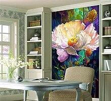 Rureng 3D Große Romantische Vintage Floral Tapete