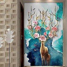 Rureng 3D Wand PapiereTier Wandbilder Tapete