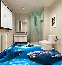 Rureng 3Dpace Marine World Delphin Boden Tapete